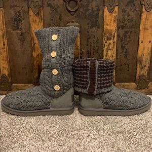 UGG classic gray boots